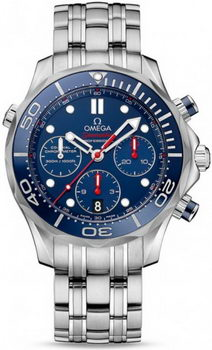 Omega Seamaster 300 M Chrono Diver Watch 158585D