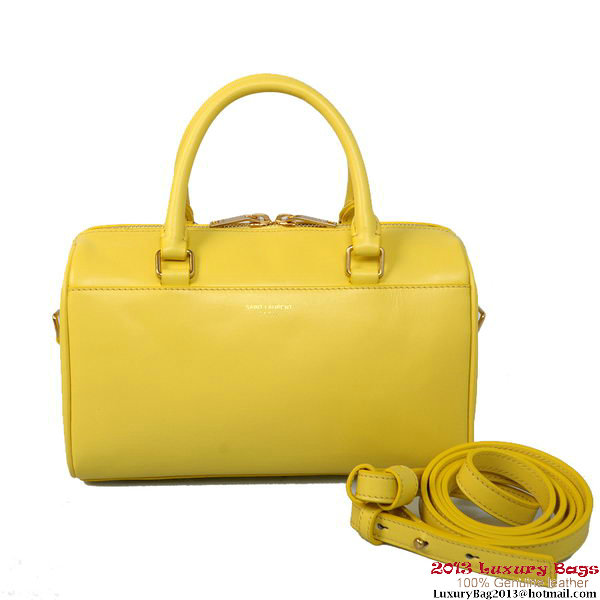 Yves Saint Laurent Classic mini Duffle Bag Yellow