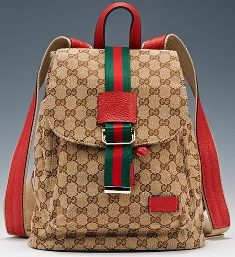 Gucci GG Plus Backpack 368589 Red