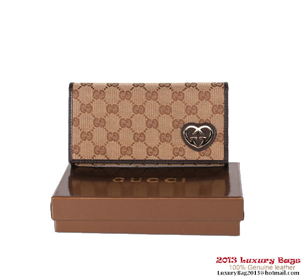 Gucci Continental Wallet 245729 Brown
