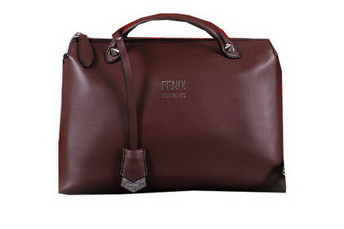Fendi BY THE WAY Bag Calfskin Leather FD2353 Brown
