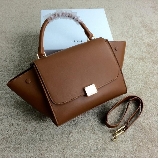 Celine mini Trapeze Bag Original Leather CL005 Wheat