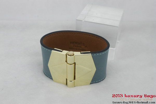Hermes Genuine Leather Bracelet H1144_9