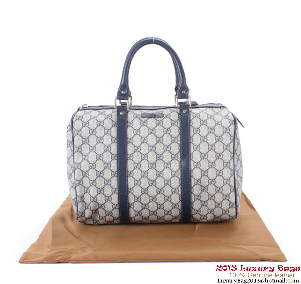 Gucci Joy Boston Bag GG Plus 193603 RoyalBlue