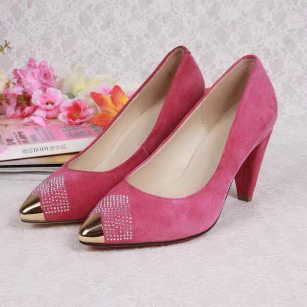 Dior Suede Leather Pump D5211 Rose