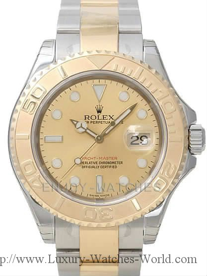 Rolex Yachtmaster 18k & SS RX368