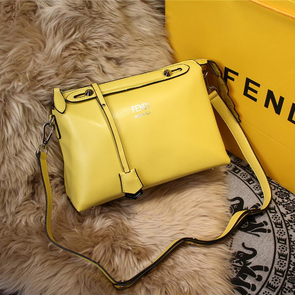 Fendi BY THE WAY Bag Original Leather FD2353 Yellow