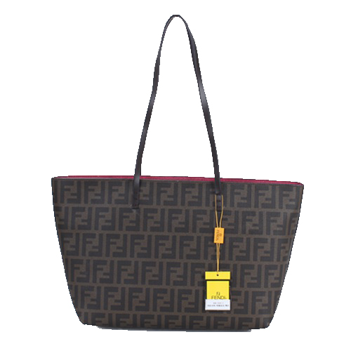 Fendi Classic Shopping Bag in Fabric Logo FD2593S Rose