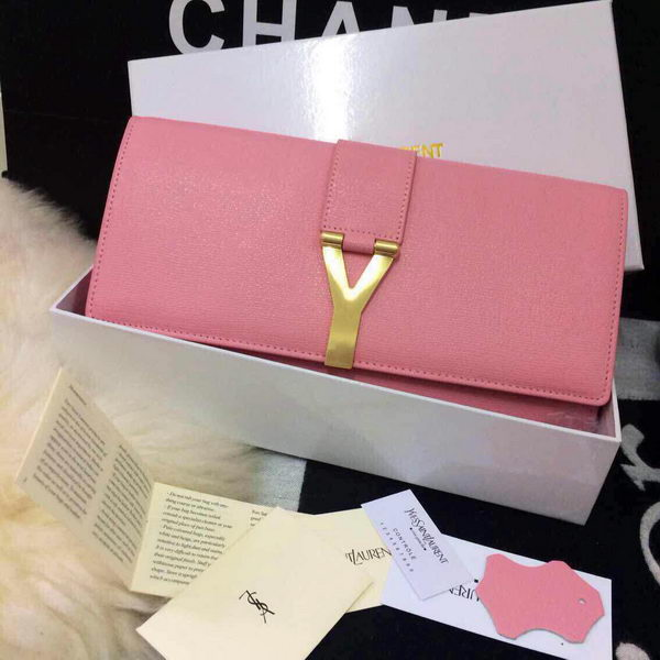 YSL Chyc Travel Case Original Leather 302101 Pink