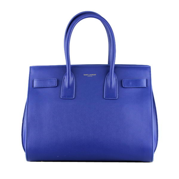 Yves Saint Laurent Classic Small Sac De Jour Bag Y2035 Blue