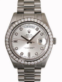 Rolex Day Date II Watch 218349B