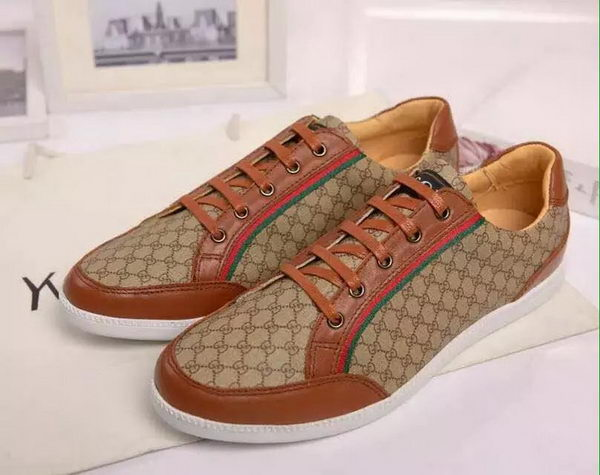 Gucci Casual Shoes GG Canvas GG0529 Wheat