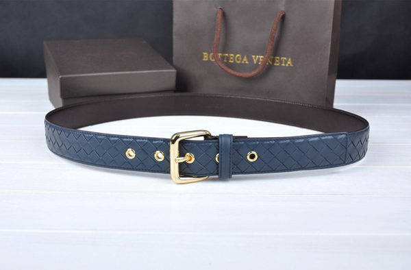 Bottega Veneta Intrecciato Nappa Belt 274483 RoyalBlue