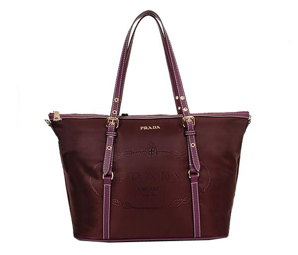 Prada Shoulder Bags Nylon BL8503 Burgundy