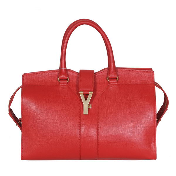 Yves Saint Laurent Medium Cabas Chyc Bag YSL8222 Red