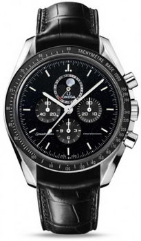 Omega Speedmaster Moonwatch Moonphase Watch 158573A