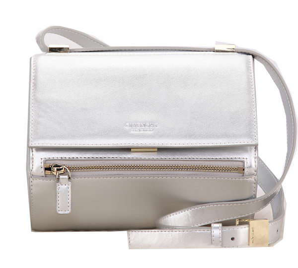 Givenchy Box Bag Calfskin Leather G9986 Silver