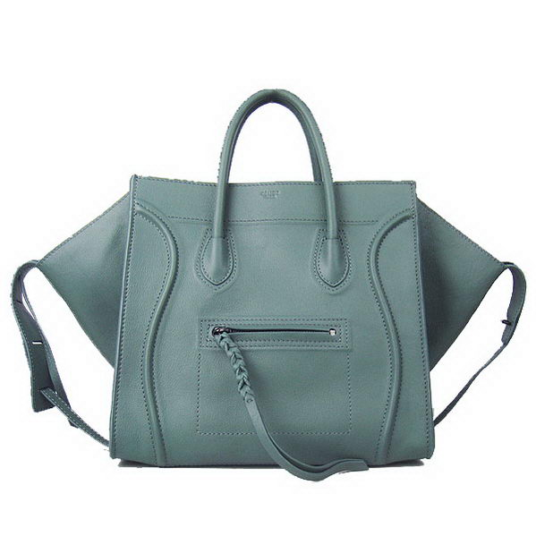 Celine Phantom Bags Calfskin Leather C6028C Dark Green
