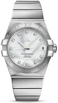 Omega Constellation Chronometer 38mm Watch 158630AI