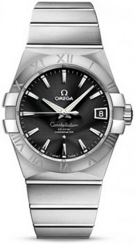 Omega Constellation Chronometer 38mm Watch 158630AM