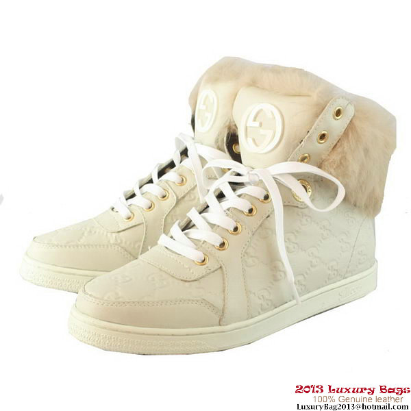 Gucci Casual Shoes GG0115 OffWhite