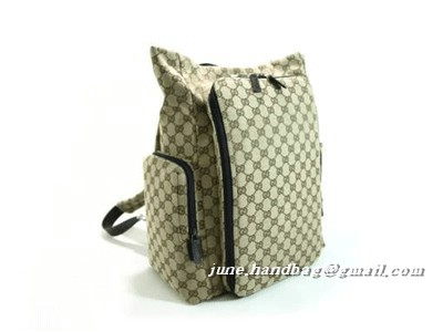 Gucci Backpack Diaper Bag 28551 Coffee