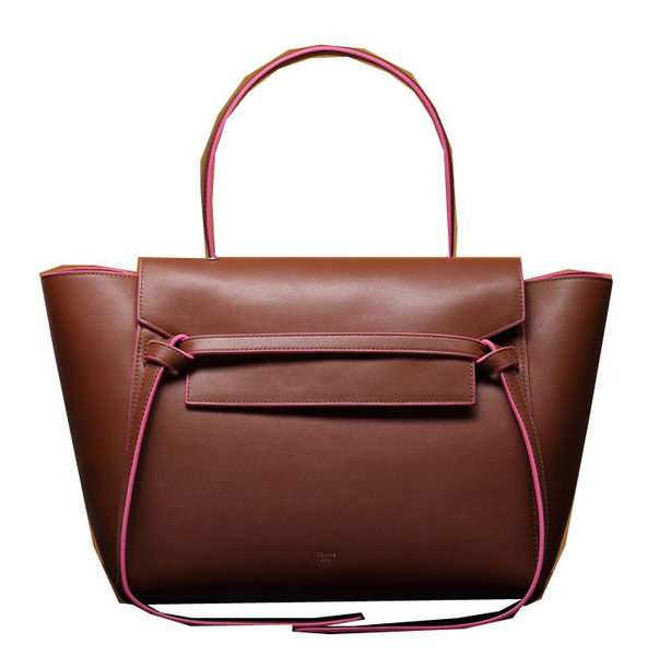 Celine Belt Bag Smooth Calfskin Leather C3345 Camel