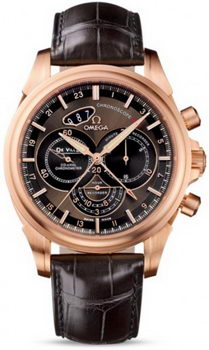 Omega De Ville Co-Axial Chronoscope Watch 158608A