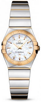 Omega Constellation Polished Quarz Mini Watch 158637Y