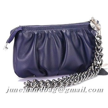 Gucci Wristlet With Interlocking G Details 229397 Blue