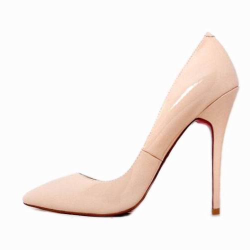 Christian Louboutin Leather Pigalle Pumps Shoes Pink