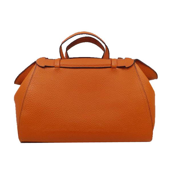 Hermes Oxer Top Handle Messenger Bag H8096 Orange