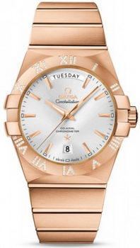 Omega Constellation Day Date Watch 158631B