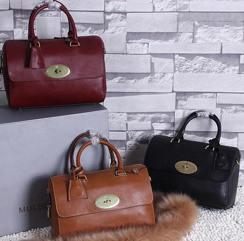 Mulberry Lily Natural Leather Bag 1213S