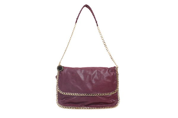 Stella McCartney 838 Burgundy Falabella PVC Cross Body Bag