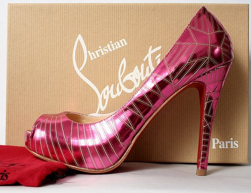 Christian Louboutin Very Galaxy - Fuchsia