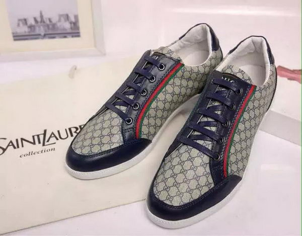 Gucci Casual Shoes GG Canvas GG0529 Blue