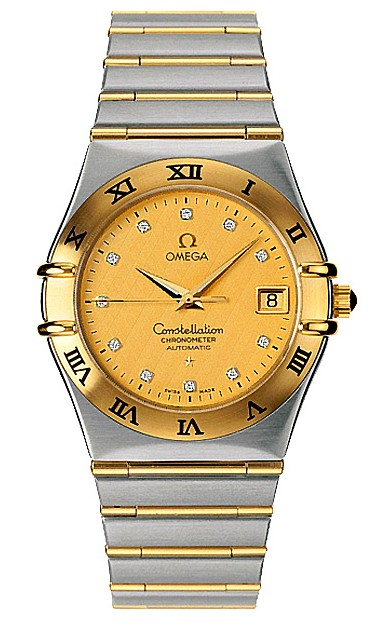 Omega Constellation Chronometer Series Mens Automatic Wristwatch 1202.15.00