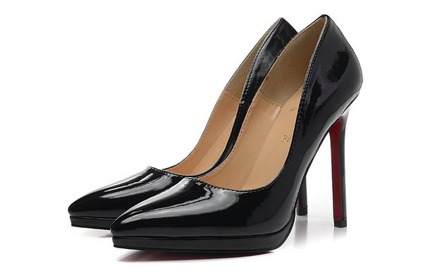 Christian Louboutin Patent Leather 120mm Pump CL1416 Black