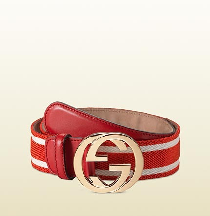 GUCCI Belt CI1001 Red