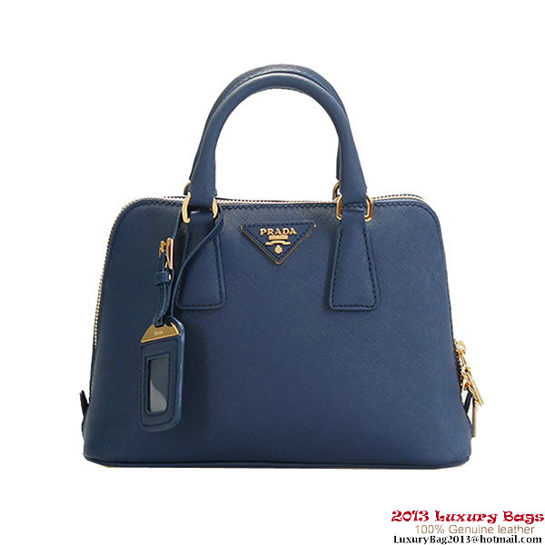 Prada Saffiano Leather Tote Bag BL0838 RoyalBlue