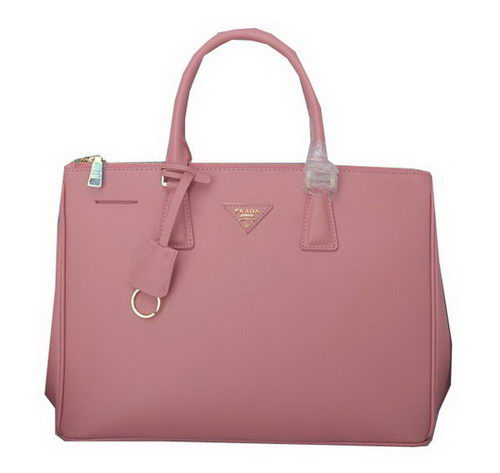 Prada Saffiano Calfskin Leather Tote Bag PBN1786 Light Pink