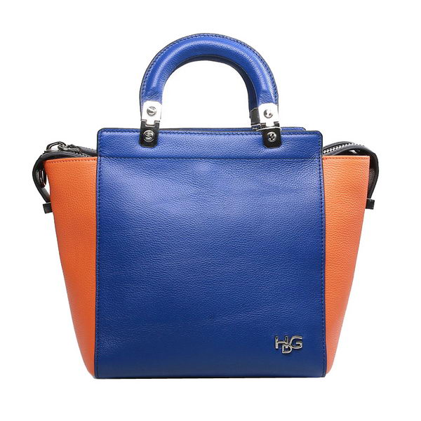 Givenchy HDG Bag in Original Calf Leather 9830 Blue&Orange