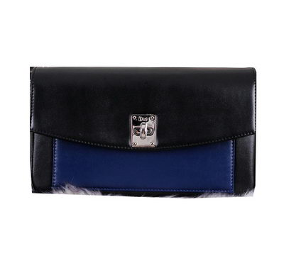 Dior Twist Promenade Pouch Three-Tone Smooth Calfskin CD0042 Royal