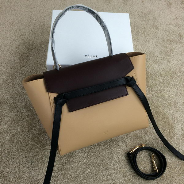 Celine mini Belt Bag Original Smooth Leather C98311 Beige