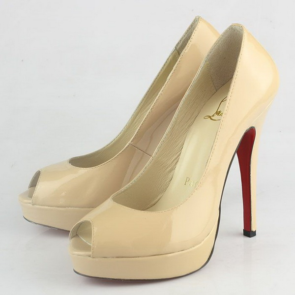 Christian Louboutin Altadama 130mm Pump CL9761 Apricot