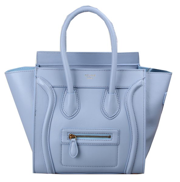 Celine Luggage Micro Tote Bag Original Leather C3308M Lavender