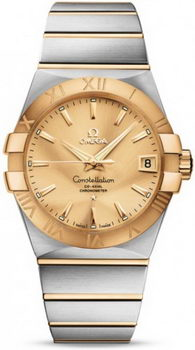 Omega Constellation Chronometer 38mm Watch 158630AB