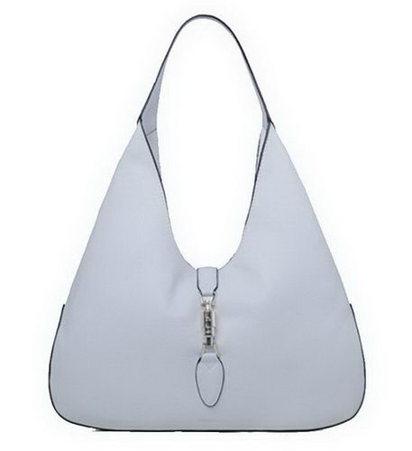 Gucci Jackie Soft Leather Hobo Bags 362968 White