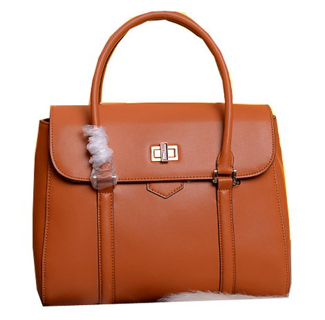 Fendi Cruise 2015 Calfskin Leather Tote Bag F5203345 Wheat
